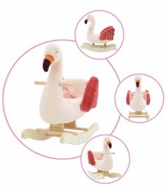 Luxe hobbel flamingo