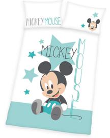 Mickey  baby dekbed overtrek 135x100