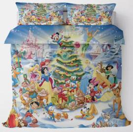 Disney kerst dekbed overtrek 200x 200  dubbelzijdig