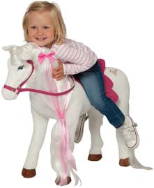 Knuffel paard van Barbie xxl