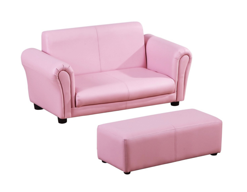 2-delige set roze