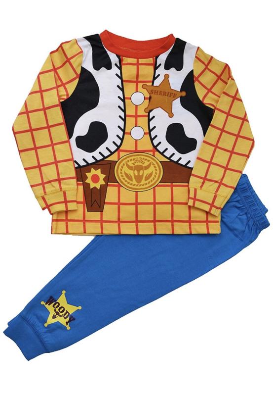 Woody toy story  pyjama 18mnd tm 6 jaar