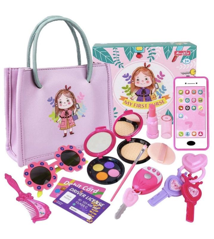 Peuter / kleuter make-up incl tasje sleutels etc