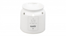 Luxe Tekstbrander - Makes you Happy