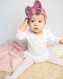 Mini-Turban bow 'pink'