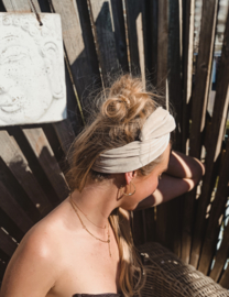 Hair bandeau 'Sand'