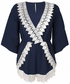 ANGEL LACE PLAYSUIT