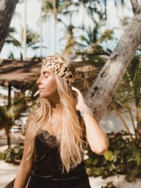Hair bandeau ' Black Tiger'