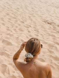 Beige Leopard  'scrunchie'