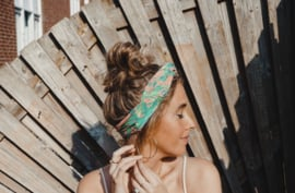 Hair bandeau 'Tropical palm'