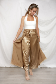 WIKKEL PANTS 2WAY 'SATIN GOLD'