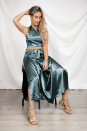 WIKKEL PANTS 2WAY 'SATIN GREEN'