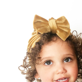 Mini-Turban bow 'gold'