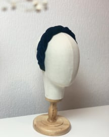 Hair braid 'dark blue'