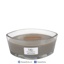 WoodWick Ellipse Candle Sand & Driftwood