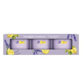 Yankee Candle Filled Votive Lemon Lavender Stick 3-Pack