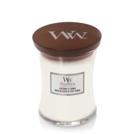 WoodWick Medium Candle Coconut & Tonka