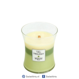 WoodWick Medium Candle Garden Oasis Trilogy