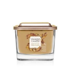 Yankee Candle Elevation Small Jar Amber & Acorn