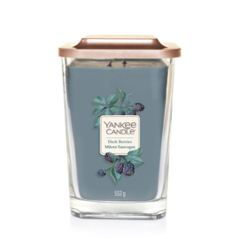 Yankee Candle Large 2-Wick Square Candle Dark Berries