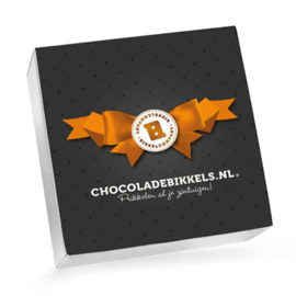 Chocoladebikkels 1 Doos met 20 Bikkels (Zelf samenstellen)