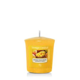 Yankee Candle Votive Mango Peach Salsa