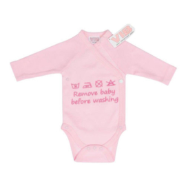 VIB Rompertje Roze (Remove Baby Before Washing)