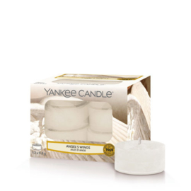Yankee Candle Tea Light Candles Angels Wings