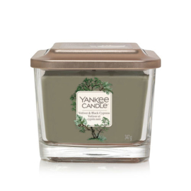 Yankee Candle Elevation Medium Jar Vetiver & Black Cypress