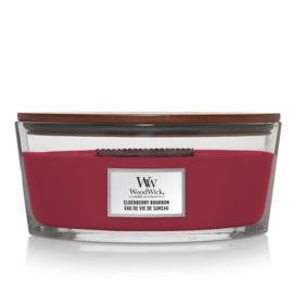 WoodWick Ellipse Candle Elderberry Bourbon