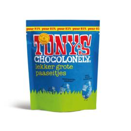 Tony's Chocolonely 180 Gram Paaseitjes Puur (Zak)