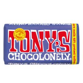 Tony's Chocolonely Donkere Melk Pretzel Toffee (180 gram)