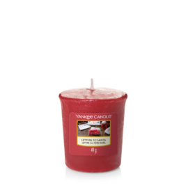 Yankee Candle Votive Letters to Santa
