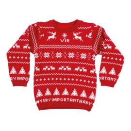 """VIB! Gebreide Kersttrui """"Mijn 1e foute kersttrui"""""""