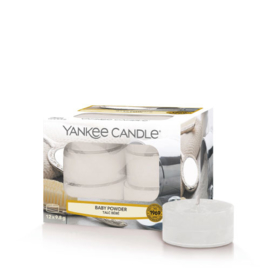 Yankee Candle Tea Light Candles Baby Powder