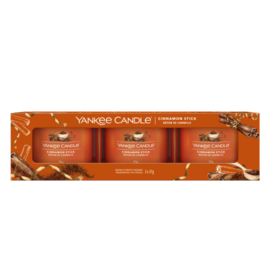 Yankee Candle Filled Votive Cinnamon Stick 3-Pack