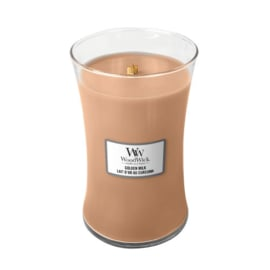 WoodWick Large Candle Golden Milk