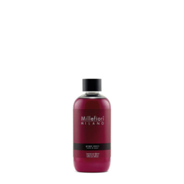 Millefiori Milano Geurstokjes Navulling 250ml Grape Cassis