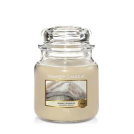 Yankee Candle Medium Jar Warm Cashmere