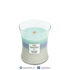 WoodWick Medium Candle Woven Comforts Trilogy