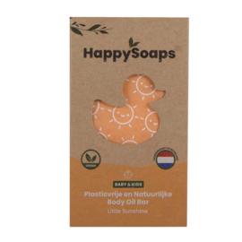 HappySoaps Baby & Kids Body Oil Bar Little Sunshine 80g