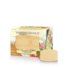 Yankee Candle Tea Light Candles Christmas Cookie