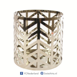Yankee Candle Jar Holder Arrow Chrome