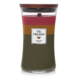 WoodWick Large Candle Hearthside Trilogy