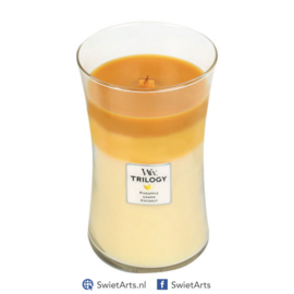 WoodWick Large Candle Fruits of Summer Trilogy