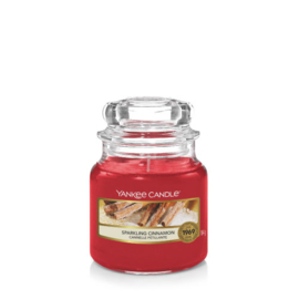Yankee Candle Small Jar Sparkling Cinnamon