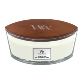 WoodWick Ellipse Candle Coconut & Tonka
