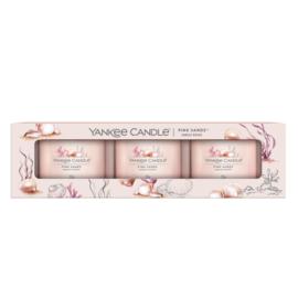 Yankee Candle Filled Votive Pink Sands 3-Pack
