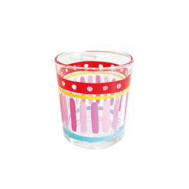 Blond Amsterdam Glas 0.35L Even Bijkletsen (Uni Pink Stripe)