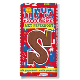 Tony's Chocolonely 180 Gram Melk Pepernoot S